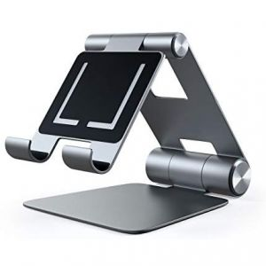 Satechi R1 Aluminum Hinge Holder Foldable Stand, Space Gray
