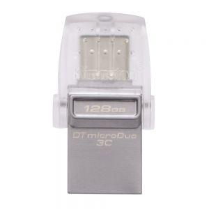 Kingston DataTraveler microDuo USB/USB-C 128GB Flash Drive
