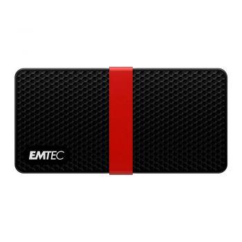 Emtec X200 256GB External SSD, USB-C 3.1 Gen1