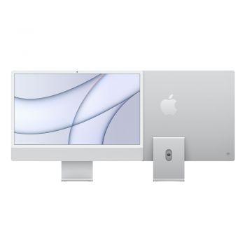 iMac, 2021, 24-inch, Apple M1, 256GB SSD, 8GB RAM, Silver