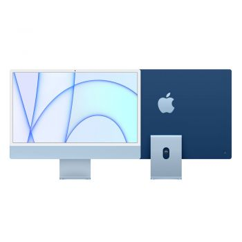 iMac, 2021, 24-inch, Apple M1, 256GB SSD, 8GB RAM, Blue