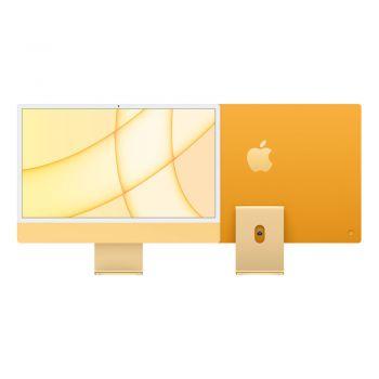 iMac, 2021, 24-inch, Apple M1, 256GB SSD, 8GB RAM, Yellow