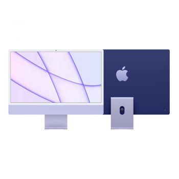 iMac, 2021, 24-inch, Apple M1, 256GB SSD, 8GB RAM, Purple