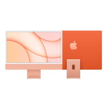 iMac, 2021, 24-inch, Apple M1, 512GB SSD, 8GB RAM, Orange