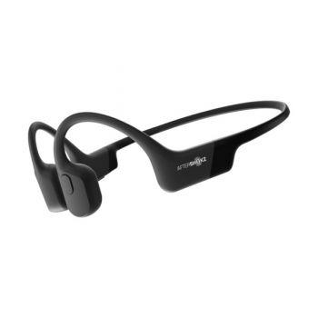 AfterShokz Aeropex Open-Ear Endurance Headphones, Cosmic Black