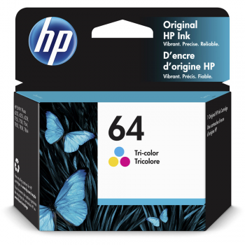 HP 64 tri-color ink cartridge
