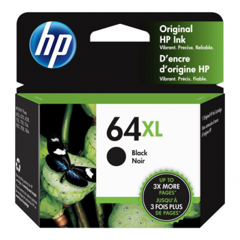 HP Ink Cartridge 64XL Black