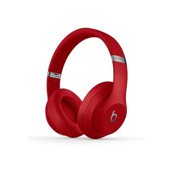 Beats Studio3 Wireless Over‑Ear Headphones, Red