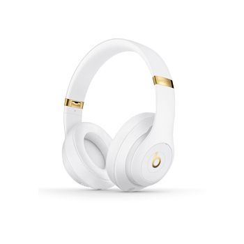 Beats Studio3 Wireless Over‑Ear Headphones, White