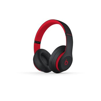 Beats Studio3 Wireless Over-Ear Headphones, The Beats Decade Collection, Defiant Black-Red
