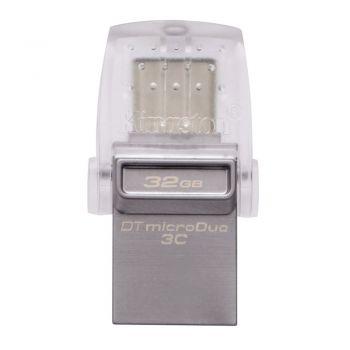 Kingston DataTraveler microDuo USB/USB-C 32GB Flash Drive