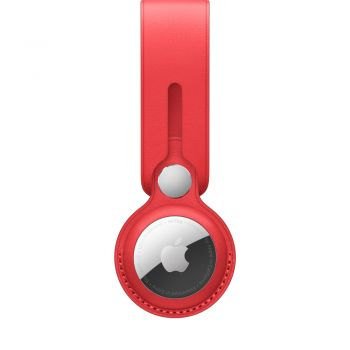 AirTag Leather Loop, (PRODUCT)RED