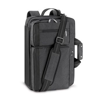 SOLO New York Duane Hybrid Briefcase Backpack