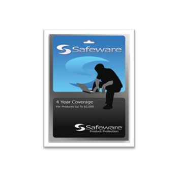 Safeware 4-Year Protection Plan for a product with purchase price up to $2,000 (BLUE)