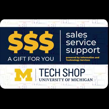 Tech Shop Gift Card