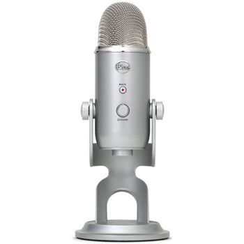 Blue Yeti Microphone, Silver