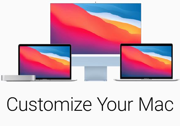 Customize your Mac