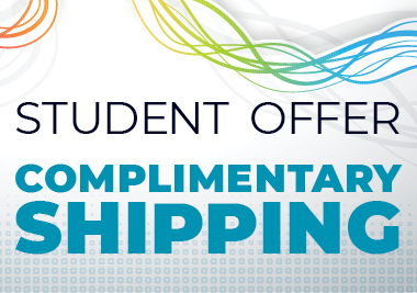 Complimentary shipping for students